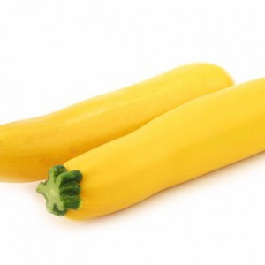 Gele courgette